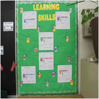 Learning Skills Anchor Chart